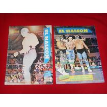 Lucha Libre - El Halcon Lote De 2 Revistas Años 90
