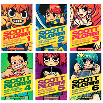 Libros Scott Pilgrim Color Set Vols 1-6 En Pasta Dura Ingles