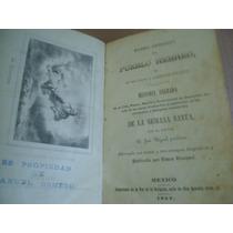 Historia Cronologica Del Pueblo Hebreo Mexico 1852 Grabados