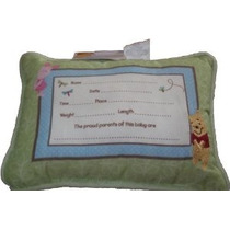 Winnie The Pooh Bordado Recuerdo Pillow - Sunny Day