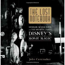 Libro De The Lost Notebook: The Secrets Of Walt Disney Nuevo