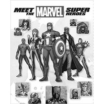 Libro Meet The Marvel Super Heroes , 2nd Edition