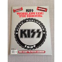Kiss Worldwide Tourbook Alive Worldwide 1997
