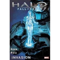 Comic De Halo: Fall Of Reach: Invasion En Pasta Dura - Nuevo