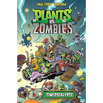 Libro Plants Vs. Zombies Timepocalypse Pasta Dura - Nuevo