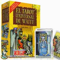 Set Tarot Universal De Waite - Libro Y Baraja De 78 Cartas