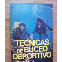 Técnicas De Buceo Deportivo-ilust-baltazar Pasos-diana-hm4