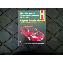 Haynes Manual Reparación Chrysler Sebring / Cirrus Stratus