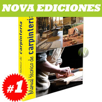 Manual Práctico De Carpintería 1 Vol + 1 Cd, Nueva Edición