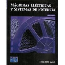 Libro: Máquinas Eléctricas Y Sistemas De Potencia Pdf