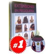 Extensiones En Peluquería 1 Vol + 1 Dvd. Nuevo Y Original.