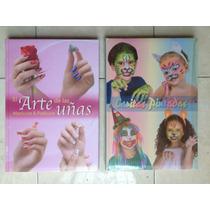Paquete Manicure Y Pedicure Uñas Y Caritas Pintadas Promocio