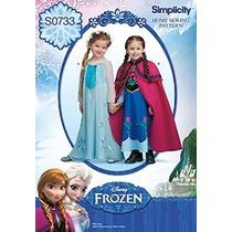 Disfraz Para Niños Un Frozen Patrón De Simplicity Patrones C