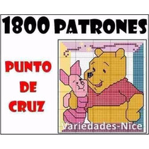 1800 Patrones Punto De Cruz, Con Variados 2x1 Envio Gratis