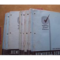 Hemphill School-eseña.visual-ilust-1950-lote 31libros-electr