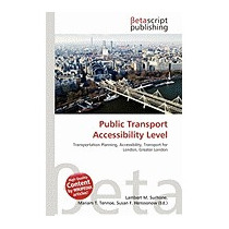 Public Transport Accessibility Level, Lambert M Surhone