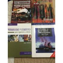 Libros De Ingeniería Industrial Usados En Perfecto Estado