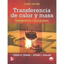 Libro Transferencia De Calor Y Masa De Yunus Cengel