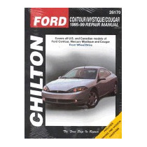 Ford Contour, Mystique And Cougar, 1995-99, Chilton