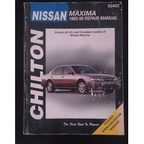Manual Chilton Nissan Maxima 1993-04 Repair Manual 1st Editi