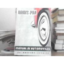 Libro Manual De Automoviles