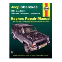 Libro Jeep Cherokee 1984 Thru 2001: Cherokee,, J H Haynes