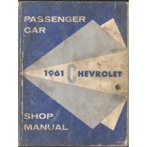 Libro De Reparación Para Modelos Chevrolet 1961