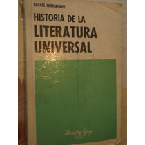 Libro Historia De Literatura Universal