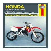 Haynes Honda Cr Motocross Bikes Owners, Alan Ahlstrand