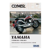 Clymer Yamaha V-star 650 1998-2011, Ron Wright