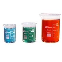 Kel Científico Ks-512 De 3 Piezas Graduado Micro Cristal Vas