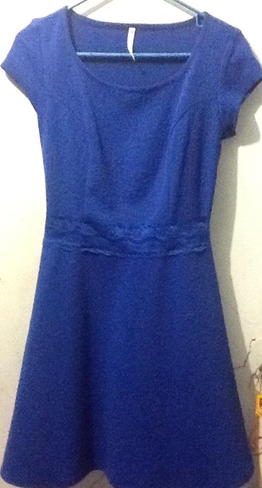 Vestidos De Baño Azul Rey:Limpia De Closet Vestido Casual Poco Uso Azul Rey – $ 10000 en