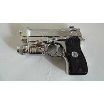 2 Pistolitas Juguete Escuadra Con Apuntador Lazer Y Tokes