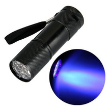 Linterna Ultravioleta Para Deteccion De Billetes Falsos