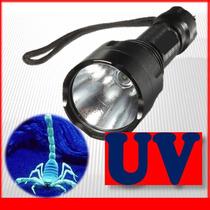 Lampara Uv Luz Ultravioleta 3w Luz Fija/estrobo Kit Completo