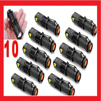 10 Lamparas Tacticas De 2800 Lumens Cree Led Recargable Zoom