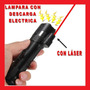 Lampara Tactica Led Con Descarga Electroshock Toques Hm4
