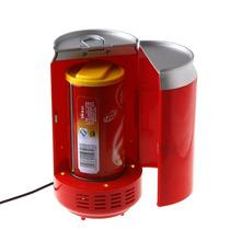 Exelente Mini Refrigerador Calentador, De Lata, Nuevo