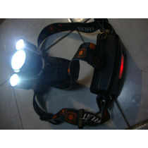 Lampara 5000 Lumen Led Headlamp Tactica Minera Caceria Pesca
