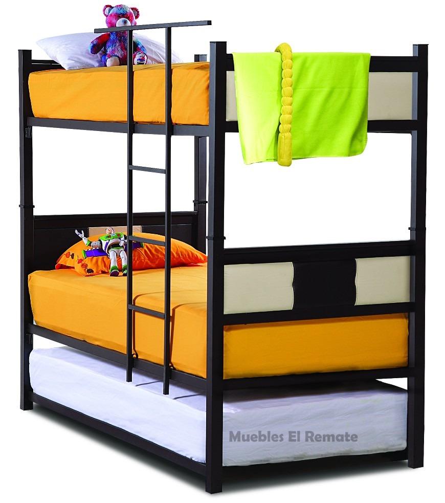 Litera metalica color chocolate modelo picolo en monterrey - Base de cama ikea ...