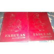 Libros Fabula La Fontaine 2 Tomos Pasta Dura