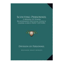 Scouting Personnel: A Manual Of Human, Division Of Personnel
