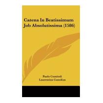 Catena In Beatissimum Job Absolutissima, Paolo Comitoli