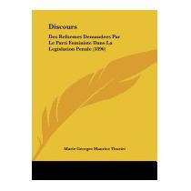 Discours: Des Reformes Demandees Par, Marie Georges Maurice
