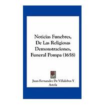 Noticias Funebres, De Las Religiosas, Juan Fernandez De
