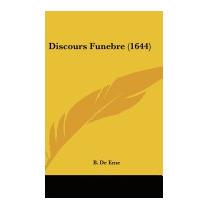 Discours Funebre (1644), B De Eme