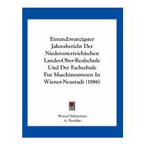 Einundzwanzigster Jahresbericht Der, Wenzel Schmeisser
