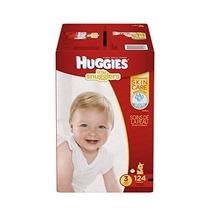 Huggies Little Snugglers Bebé Pañales Tamaño 3 124 Count (el