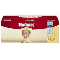 Huggies Little Snugglers Pañales Tamaño 3 162 Count (embalaj