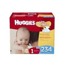 Huggies Little Snugglers Pañales Economy Plus Size 1 234 Con